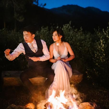 Yihan + Darwin | August 18, 2019 | Piney River Ranch, Vail, Colorado | Wedding