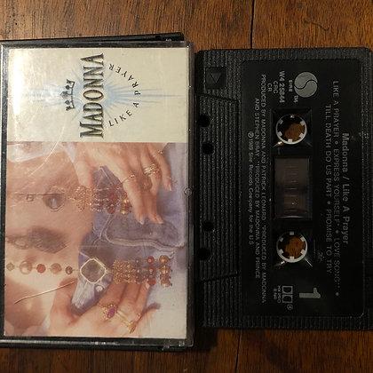 MADONNA - Like a Prayer tape