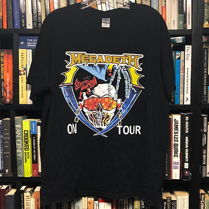 MEGADEATH shirt XL : On Tour