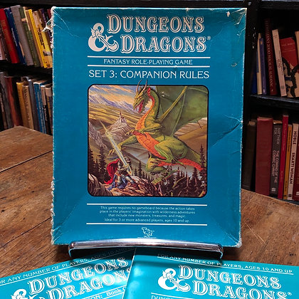 Dungeons & Dragons Set 3 - Companion Rules