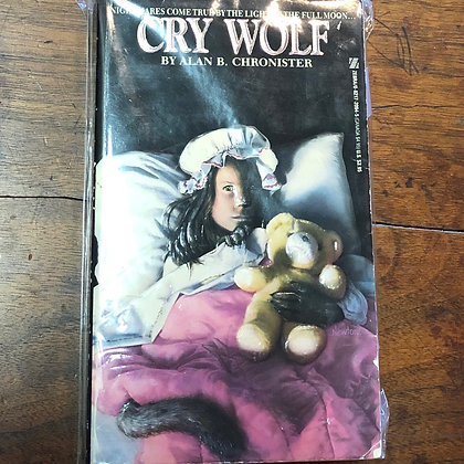 Chronister, Alan B. - Cry Wolf vintage paperback