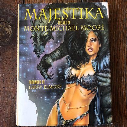 Majestika : The Art of Michael Moore - Hardcover