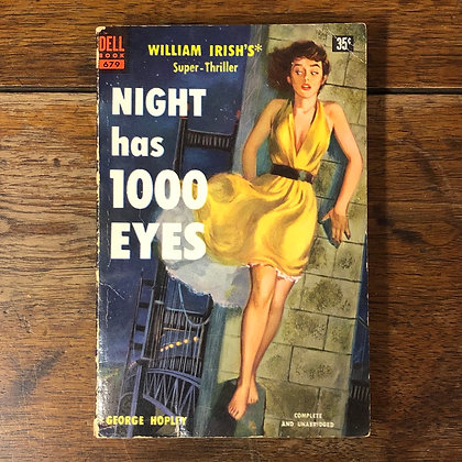 Irish, William : Night has 1000 Eyes - Paperback