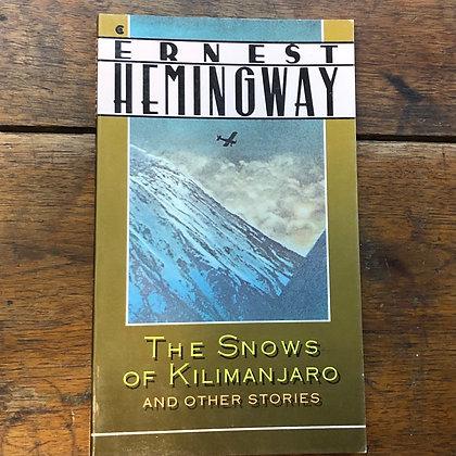 Hemingway, Ernest - The Snows of Kilimanjaro paperback