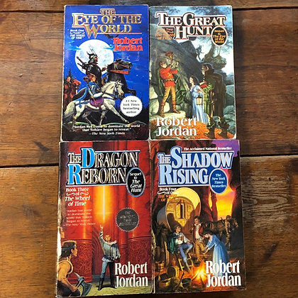 Jordan, Robert : Wheel of Time 1-4 - Paperbacks reader condition