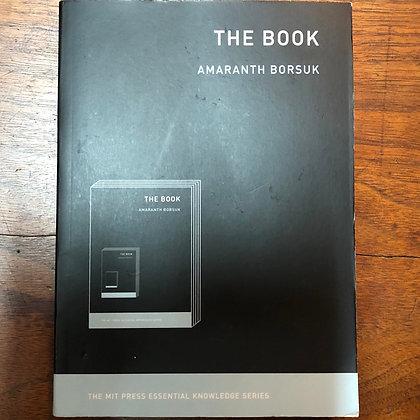 Borsuk - The Book - MIT Press Essential Knowledge Series softcover