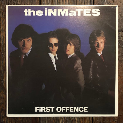 THE INMATES : First Offence - Vinyl LP