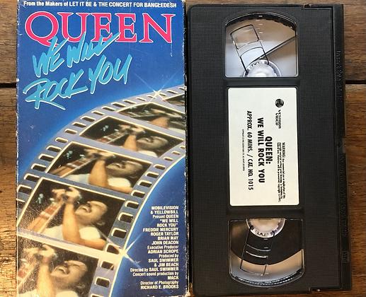Queen, We Will Rock You - VHS