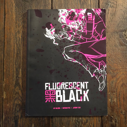 Fluorescent Black - Large Softcover graphic novel