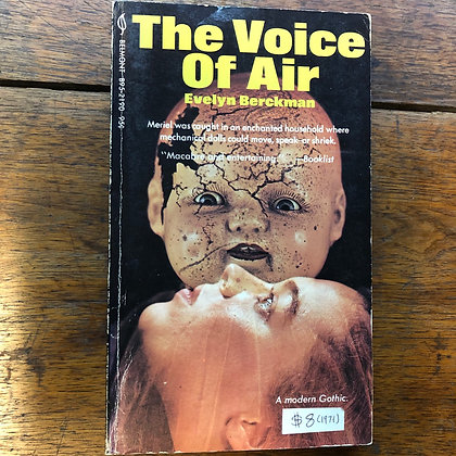 Berckman, Evelyn - The Voice of Air 1971 paperback