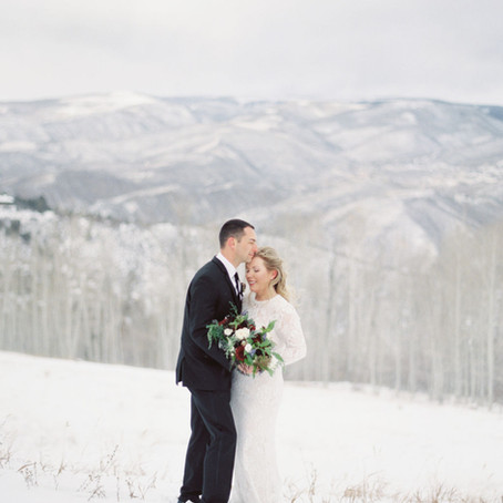 Jodi + Ben | November 14, 2020 | Splendido at the Chateau | Beaver Creek, CO | Micro Wedding