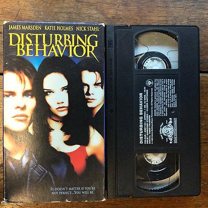 Disturbing Behavior VHS