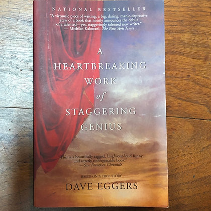 Eggers, Dave - A Heartbreaking Work of Staggering Genius softcover