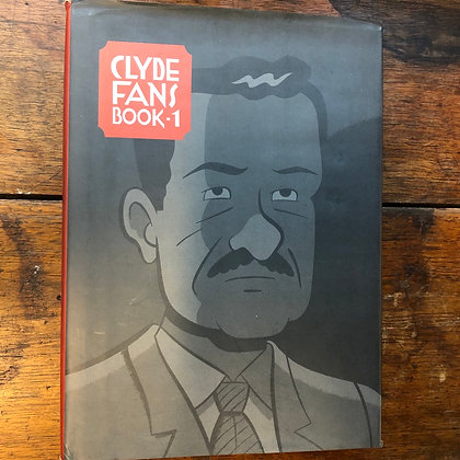Seth - Clyde Fans Book One - Drawn&Quarterly hardcover graphic novel