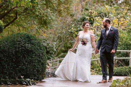 Every detail matters. Destination Wedding in Asheville, North Carolina. Moody Color Palate for Fall Wedding. Garden Wedding.