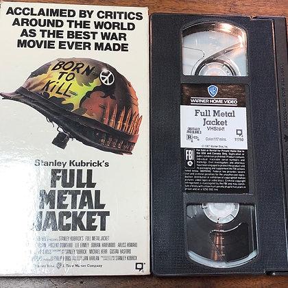 Full Metal Jacket VHS