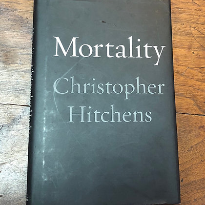 Hitchens, Christopher - Mortality hardcover
