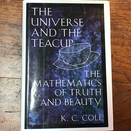 Cole, K.C. - The Universe and the Teacup hardcover