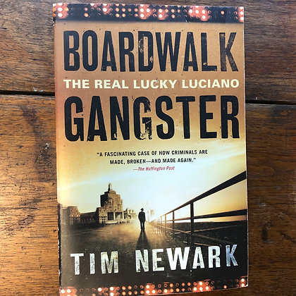 Newark, Tim - Boardwalk Gangster softcover