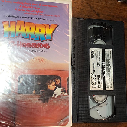 Harry and the Hendersons VHS