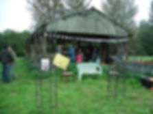 Community growing day, smallholders training course