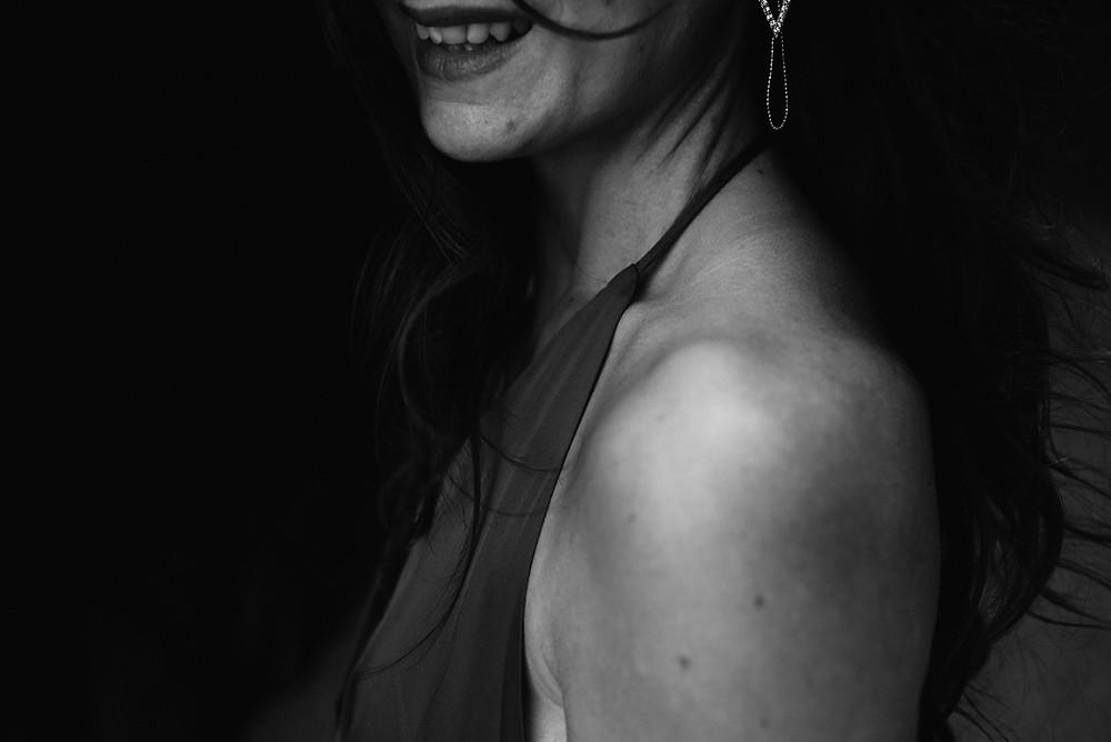 sourire portrait de femme naturelle