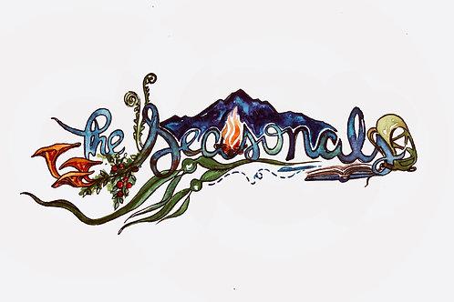 The Seasonals Watercolor Sticker