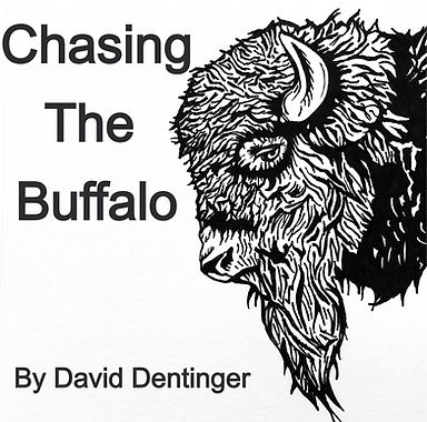 Chasing the buffalo by David Dentinger