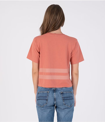 OCEANCARE WASHED COLLEGE S/S TEE