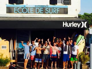 L'école de surf Océan Expérience