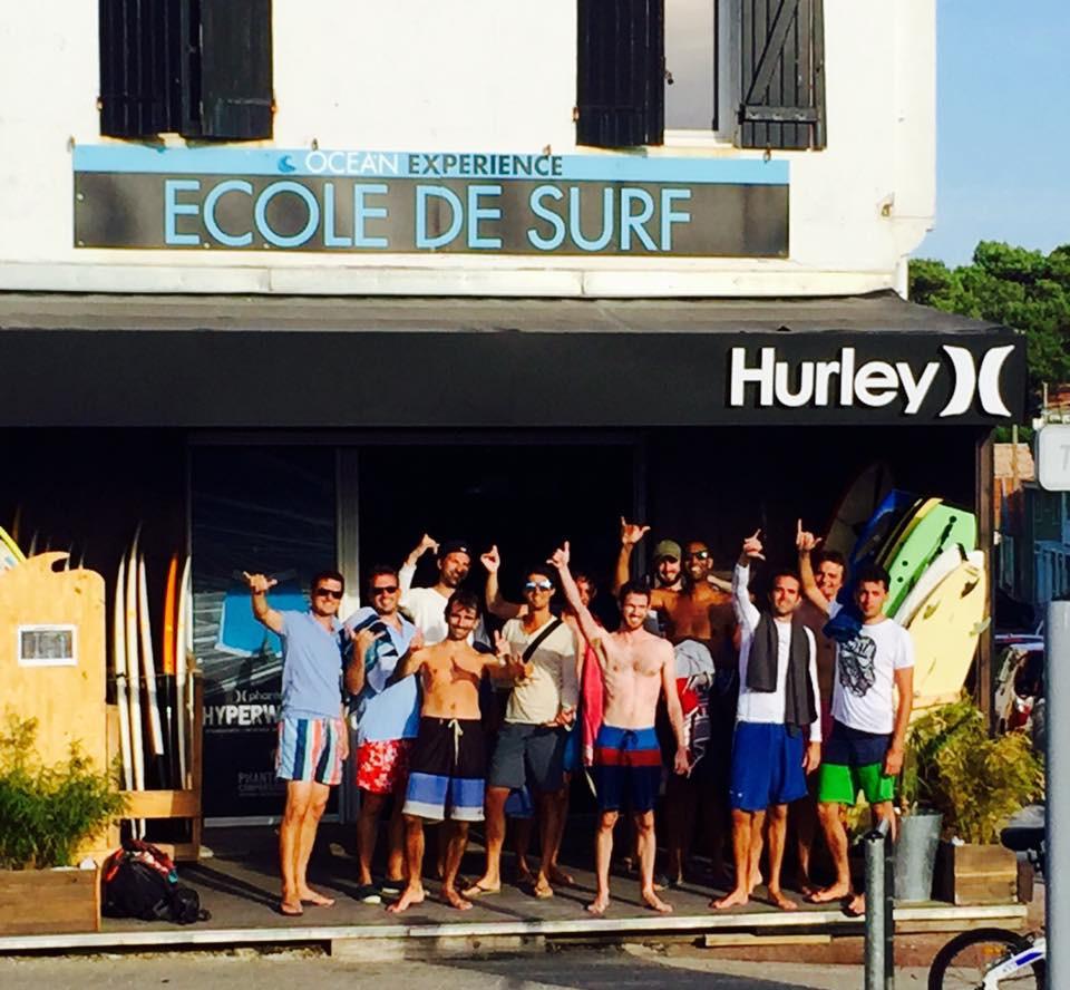 École de surf Océan Expérience à Lacanau