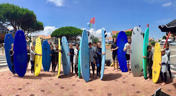 École de surf océan expérience lacanau