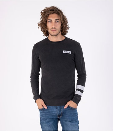 OCEANCARE WASHED BLOCK PARTY L/S TEE