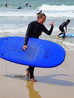 Ecole de surf à Lacanau Océan
