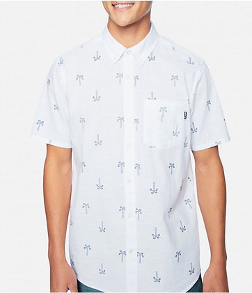 ONE & ONLY PAISLEY PALM S/S - HURLEY MEN