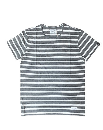 T-shirt Big Stripes Gris