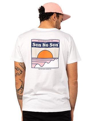 SEN NO SEN - T-shirt organic Salted Wellness Co