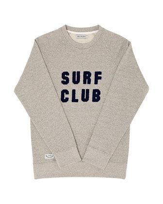 Sweat Organic Surf Club Gris