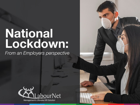 National COVID-19 Lockdown – From an Employers perspective