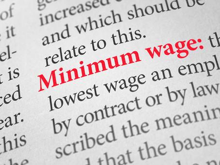 Updated National Minimum Wage Bill