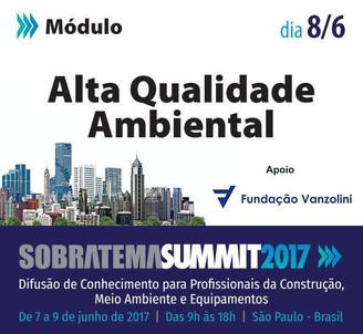 AQUA-HQE é tema em seminário do Sobratema Summit e Grupo CONECTICIDADE é apresentado no evento