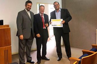 Portal Novo Dia noticia prêmio recebido pela Prefeitura de Itu no Evento Conecticidade para Premiaçã