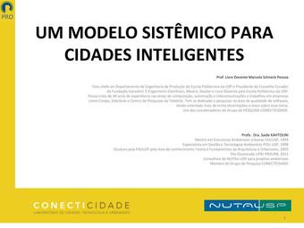 Apresentação: Um Modelo Sistêmico para Cidades Inteligentes