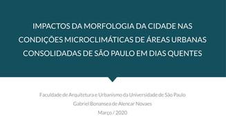 Apresentada e aprovada a Banca de Mestrado de Gabriel Novaes em 17/03/2020, na FAU USP