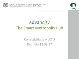 Apresentação: ADVANCITY THE SMART METROPOLIS HUB