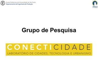 Apresentação do Grupo no EVENTO CONECTICIDADE DE PREMIAÇÃO PARA SMART CITIES