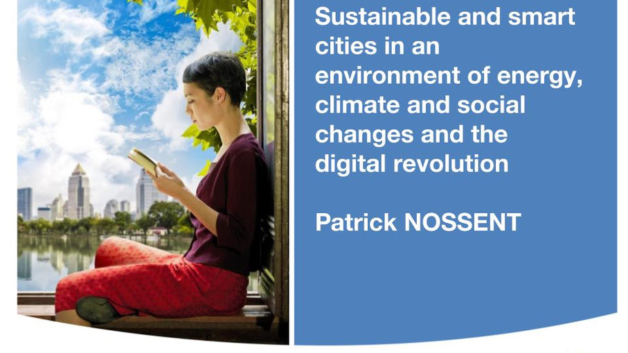 [SEMINÁRIO CONECTICIDADE 2019] PATRICK NOSSENT: Sustainable and smart cities in an environment of en