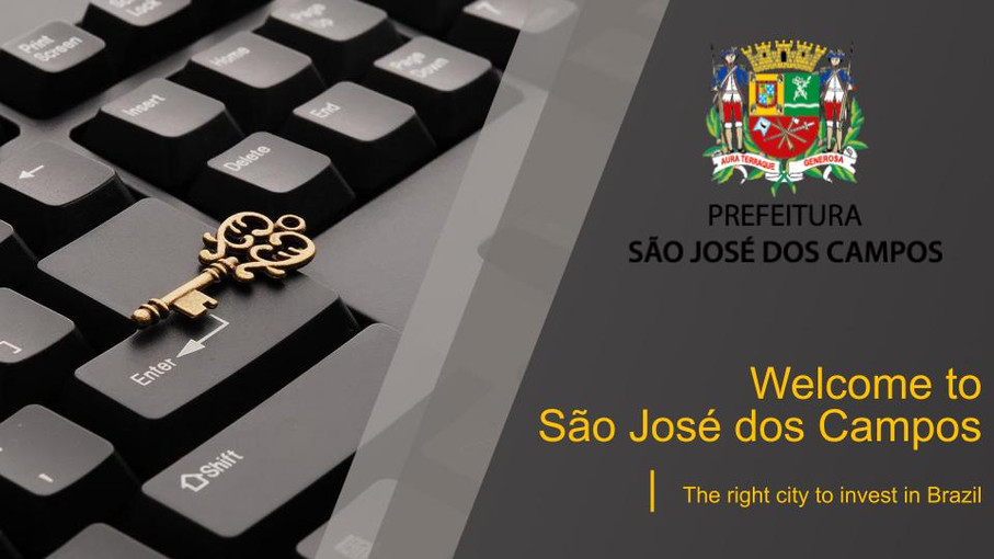 [SEMINÁRIO CONECTICIDADE 2019] ALBERTO MARQUES: Welcome to São José dos Campos - The right city to i
