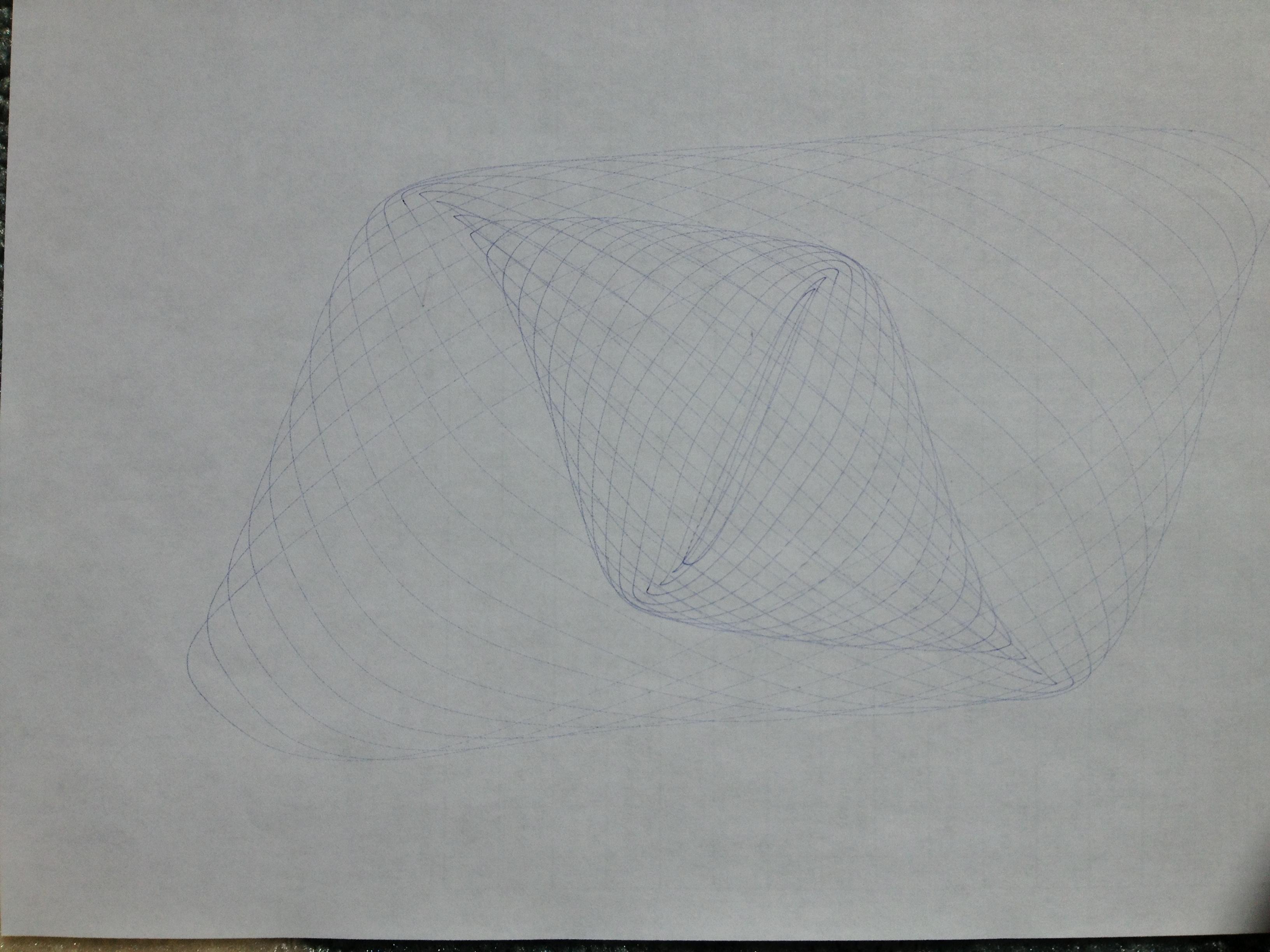 Harmonograph Drawing