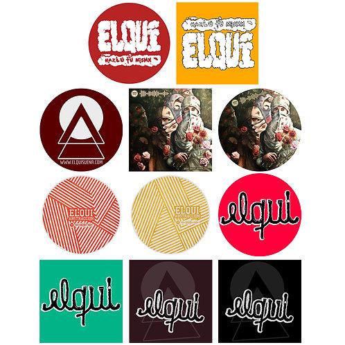 Stickers 5x5cm
